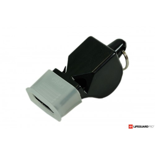 Professional whistle with lanyard
