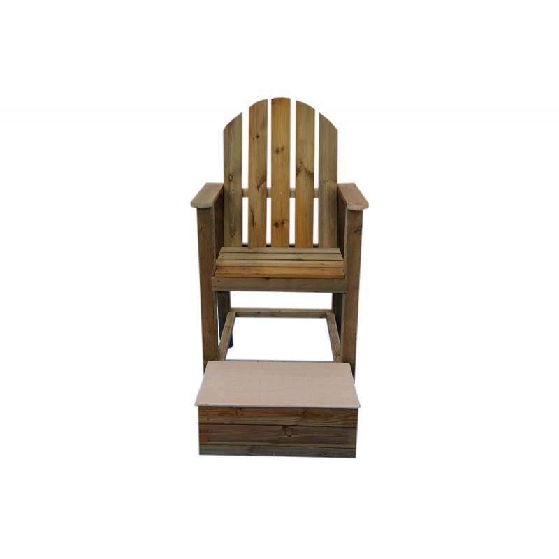 silla de vigilancia