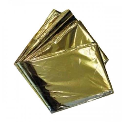 Manta térmica oro/plata