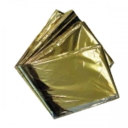 THERMAL BLANKET GOLD/SILVER
