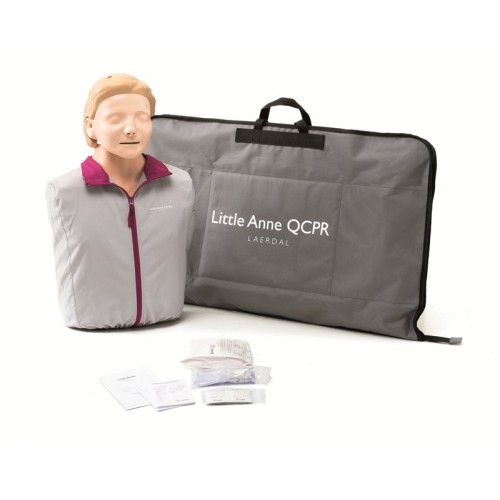 Maniquí RCP Little Anne QCPR