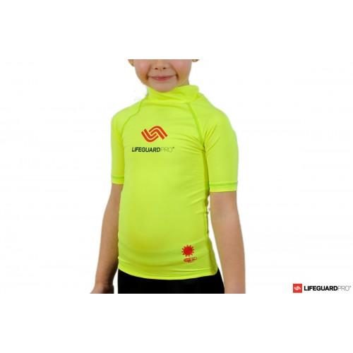 camiseta lycra niño logo