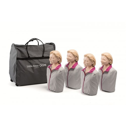 PACK Maniquí RCP Little Anne QCPR