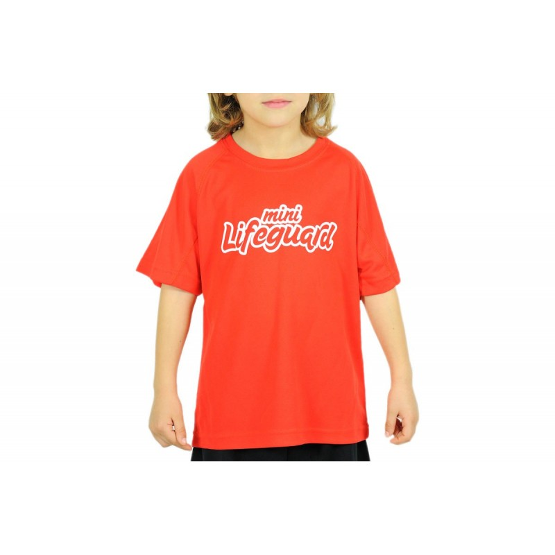 camiseta mini lifeguard