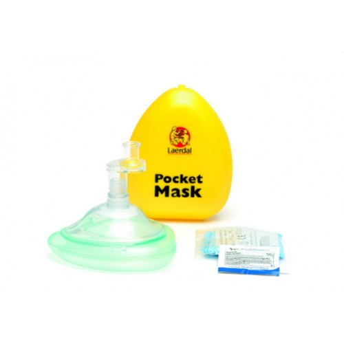 Pocket mask Laerdal